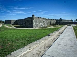 Castillo de San Marcos HDR Wide